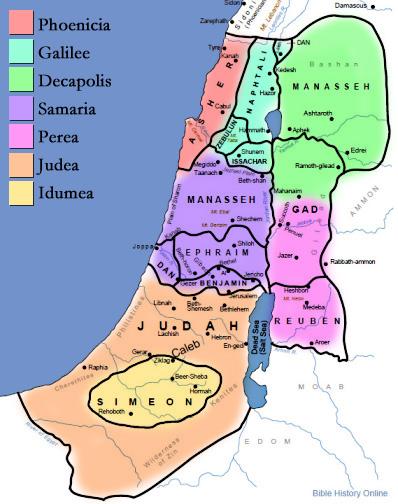 map-twelve-tribes